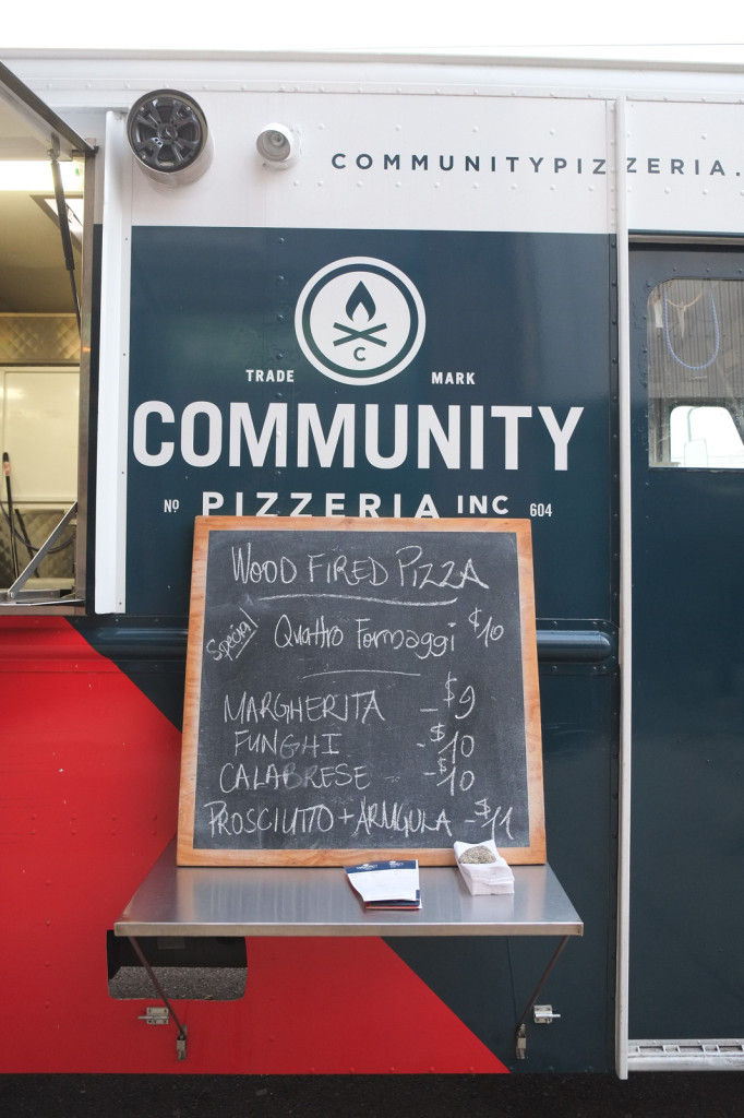 Neapolitan-style pizza out of a food truck!