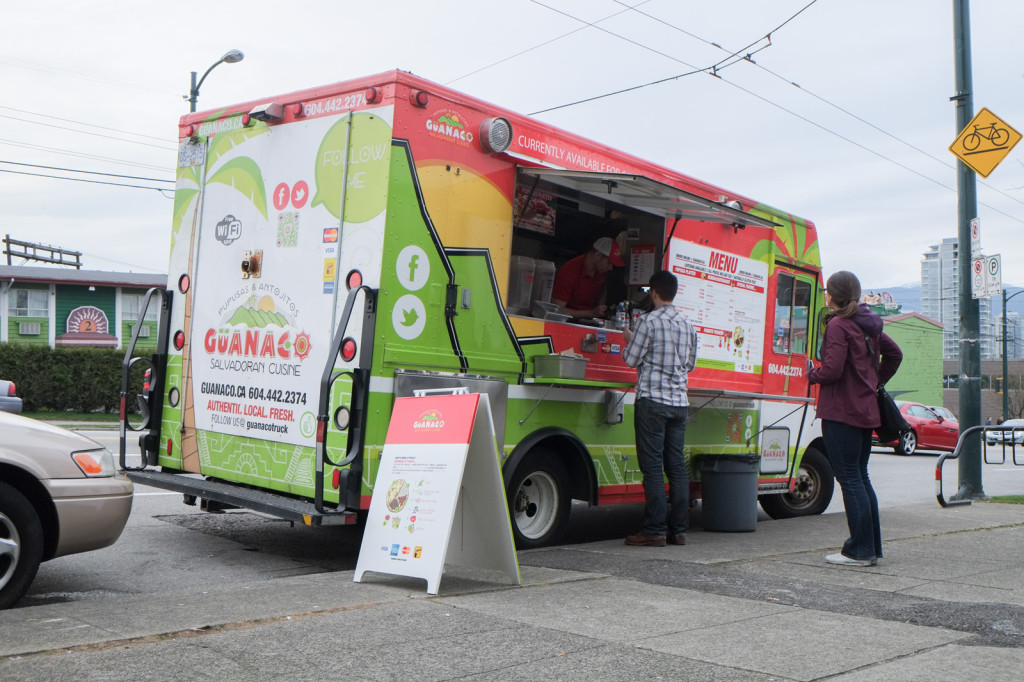 The Guanaco truck at Brassneck.