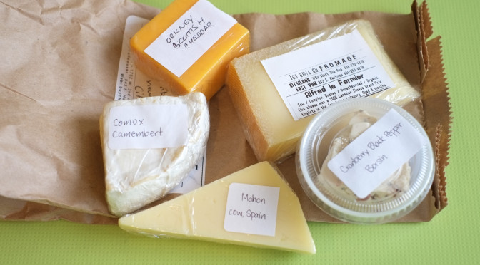 Food Crush: Alice's Brown Bag Tasting from Les Amis du Fromage