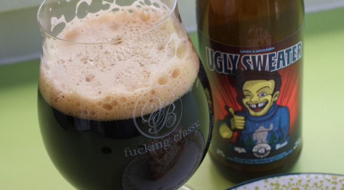 Parallel 49 Ugly Sweater Milk Stout + Sweet Potato Pie (BC Beer Bloggers Local Winter Favourites)