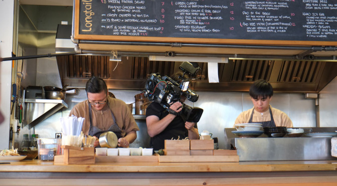 What its like being a small part of a food TV show: You Gotta Eat Here (Longtail Kitchen Episode)