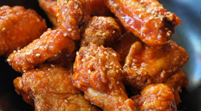 All-You-Can-Eat Korean Fried Chicken Wings at Damso on Bute