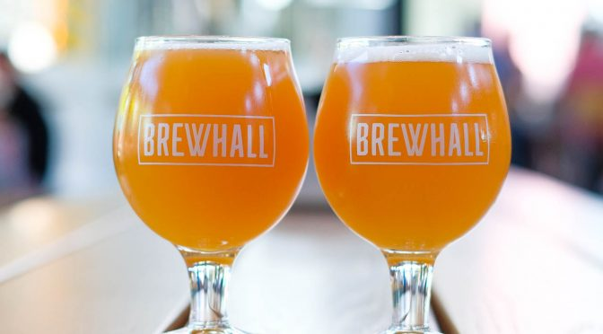 First Look: BREWHALL in Olympic Village is a Modern Beer Hall